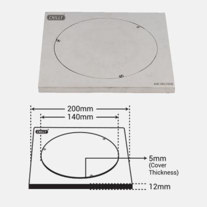 CO-SHT-200 Dimension Image