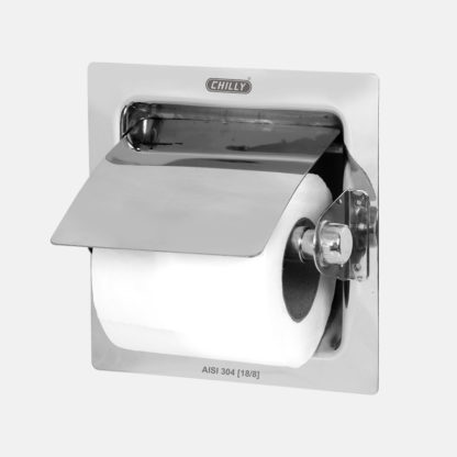 Toilet Paper Holder Concealed with Cutter